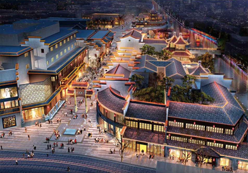 Nanjing Confucius Temple renovation project